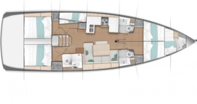 Segelboot mieten in Álimos - Jeanneau Sun Odyssey 490