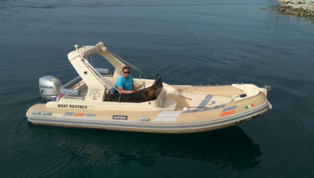 Schlauchboot mieten in Bol - Solemar B 58 offshore