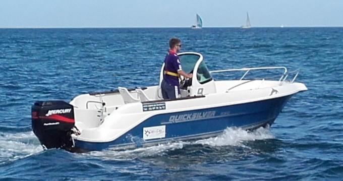 Motorboot mieten in La Rochelle - Quicksilver Quicksilver 535 Open