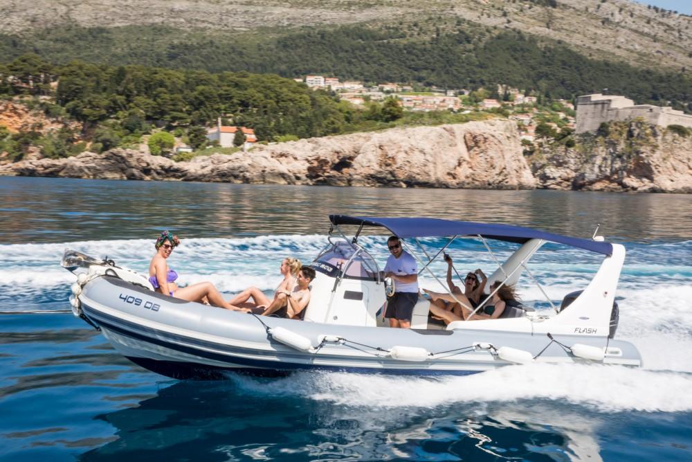 Schlauchboot mit oder ohne Skipper Zodiac mieten in Dubrovnik