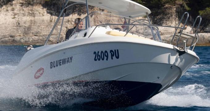 Bootsverleih Pula günstig Blueway 20 SD-C