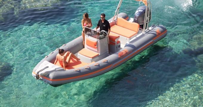 Ein Joker Boat Clubman 22 mieten in Setúbal