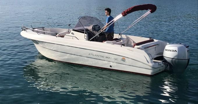Bootsverleih Atlantic open 670 Tribunj Samboat