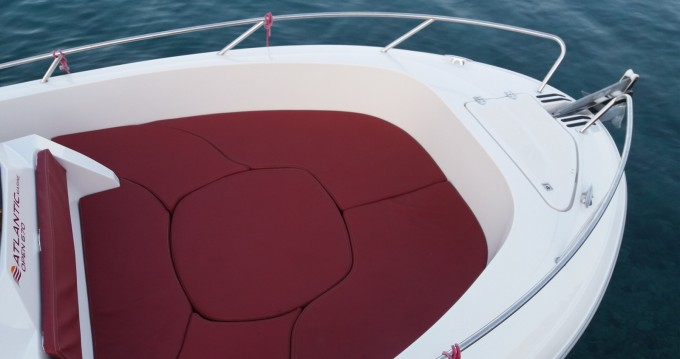 Vermietung Motorboot Atlantic mit Führerschein