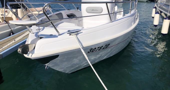 Vermietung Motorboot Bluline mit Führerschein