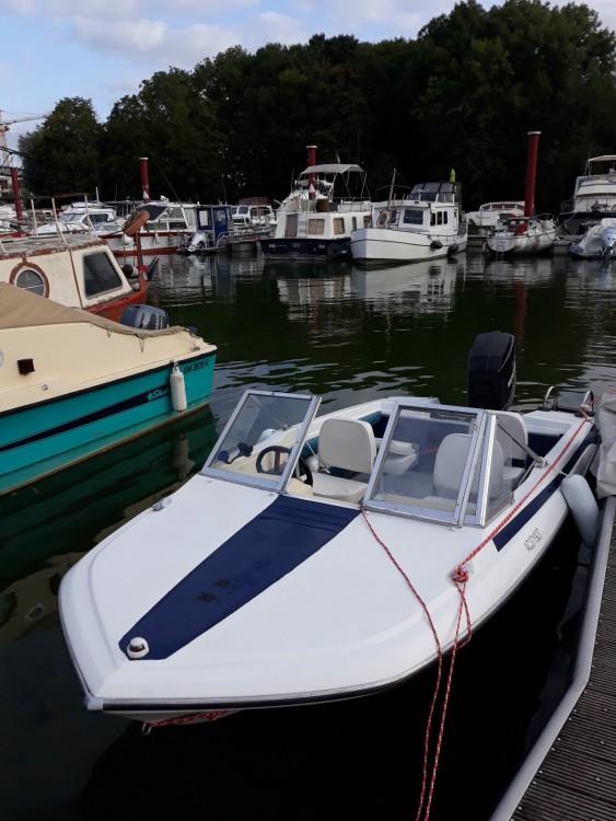 Vermietung Motorboot Glastron mit Führerschein