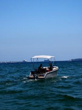 Vermietung Motorboot Rand mit Führerschein