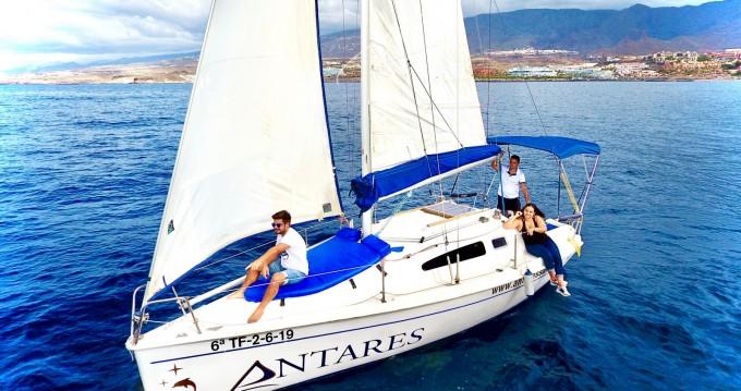 Segelboot mit oder ohne Skipper Astraea mieten in Adeje