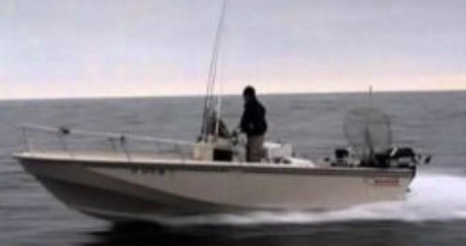 Vermietung Motorboot Boston Whaler mit Führerschein