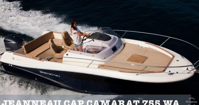 Bootsverleih Makarska günstig Cap Camarat 7.5 WA