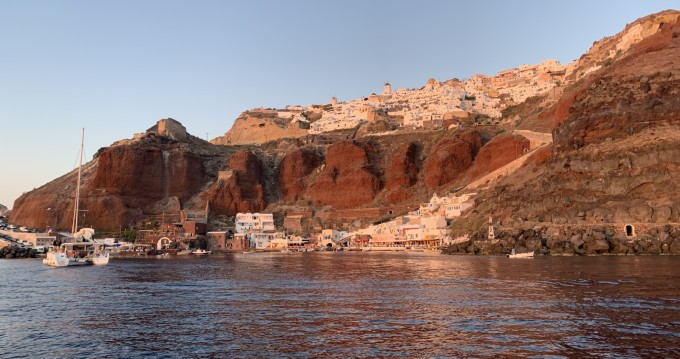 Kreta Mare  Open 30 zwischen Privatpersonen und professionellem Anbieter Lávrio