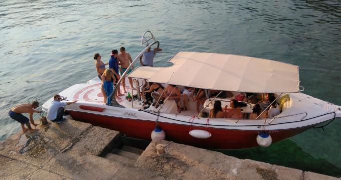 Vermietung Motorboot Mercan mit Führerschein