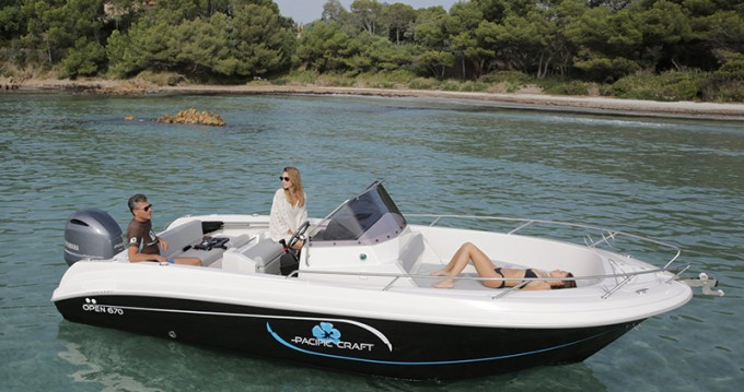 Bootsverleih Pacific Craft Pacific Craft 670 Open Trendy Lège-Cap-Ferret Samboat