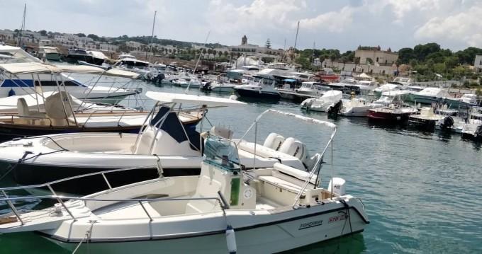 Elan Elan Fisherman  zwischen Privatpersonen und professionellem Anbieter Santa Maria di Leuca