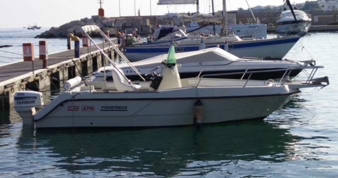 Motorboot mieten in Santa Maria di Leuca - Elan Elan Fisherman