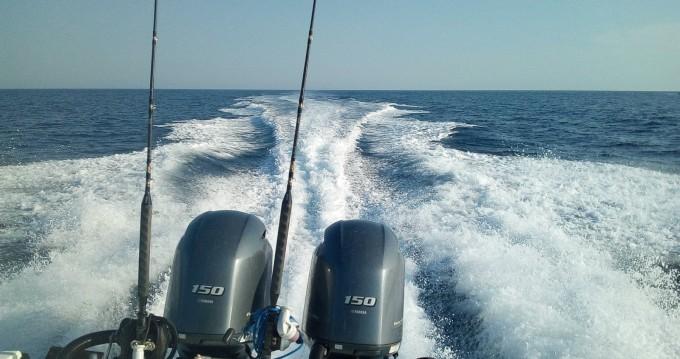 Bootsverleih Boston Whaler fisherman Torre Pali Samboat