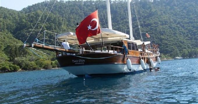 Vermietung Segelboot Gulet mit Führerschein