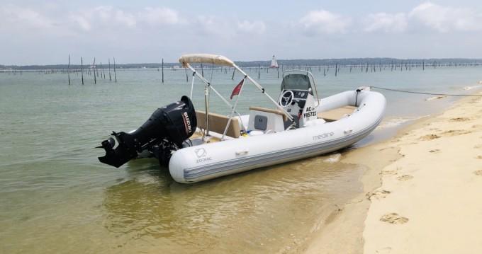 Schlauchboot mieten in Arcachon - Zodiac Medline 580