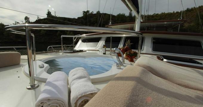 Segelboot mit oder ohne Skipper Gulet mieten in Fethiye