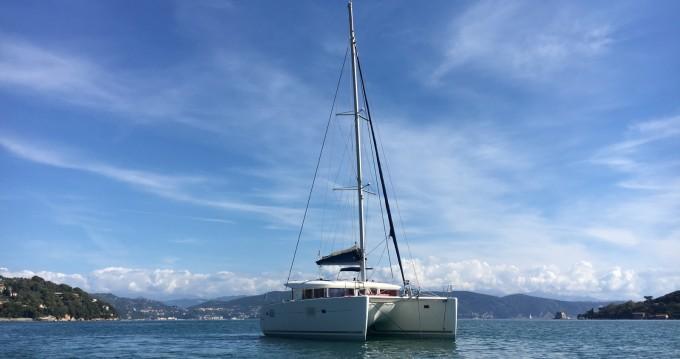 Bootsverleih Ibiza Island günstig Lagoon 400