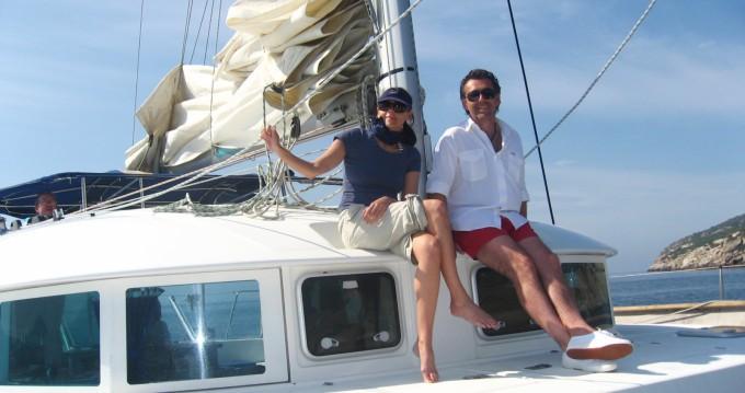 Lagoon Lagoon 380 zwischen Privatpersonen und professionellem Anbieter Ibiza Island