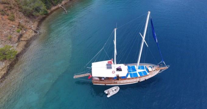 Vermietung Segelboot Wooden Goulet mit Führerschein