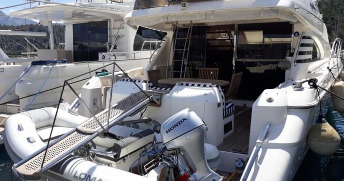 Bootsverleih Fairline Squadron 59 Göcek Samboat