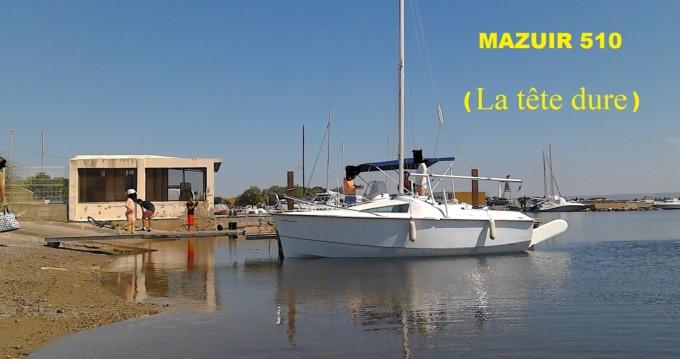 Vermietung Segelboot MAZUIR mit Führerschein