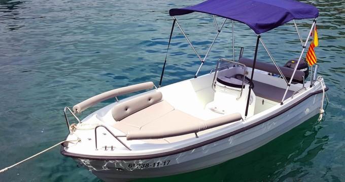 Motorboot mit oder ohne Skipper Solar mieten in Blanes