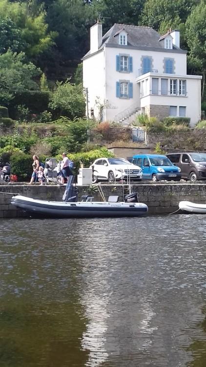 Schlauchboot mit oder ohne Skipper Zodiac mieten in Lorient