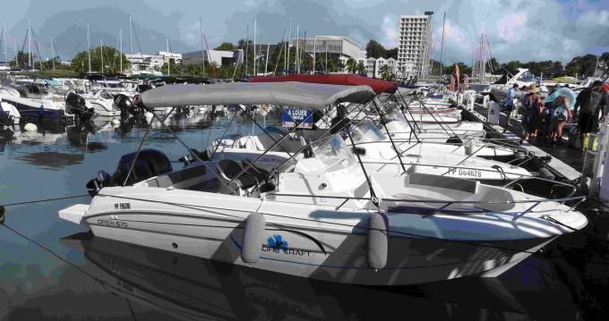 Motorboot mit oder ohne Skipper Pacific Craft mieten in Le Gosier