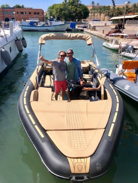 Vermietung Schlauchboot Sealver mit Führerschein