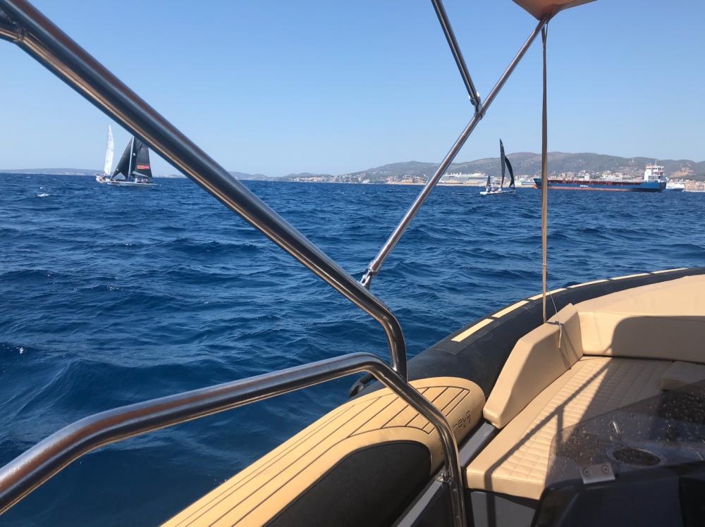 Schlauchboot mit oder ohne Skipper Sealver mieten in Palma