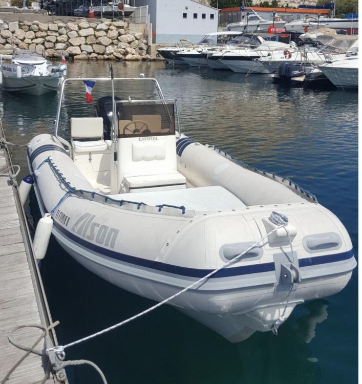 Bootsverleih Marseille günstig Flash 650