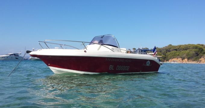 Motorboot mieten in Hyères - Pacific Craft Pacific craft 570 Diamond Head