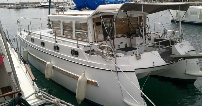 Ein catfisher 28 mieten in Vieux-Port de Marseille