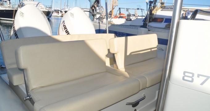 Schlauchboot mit oder ohne Skipper Scanner mieten in Palma de Mallorca