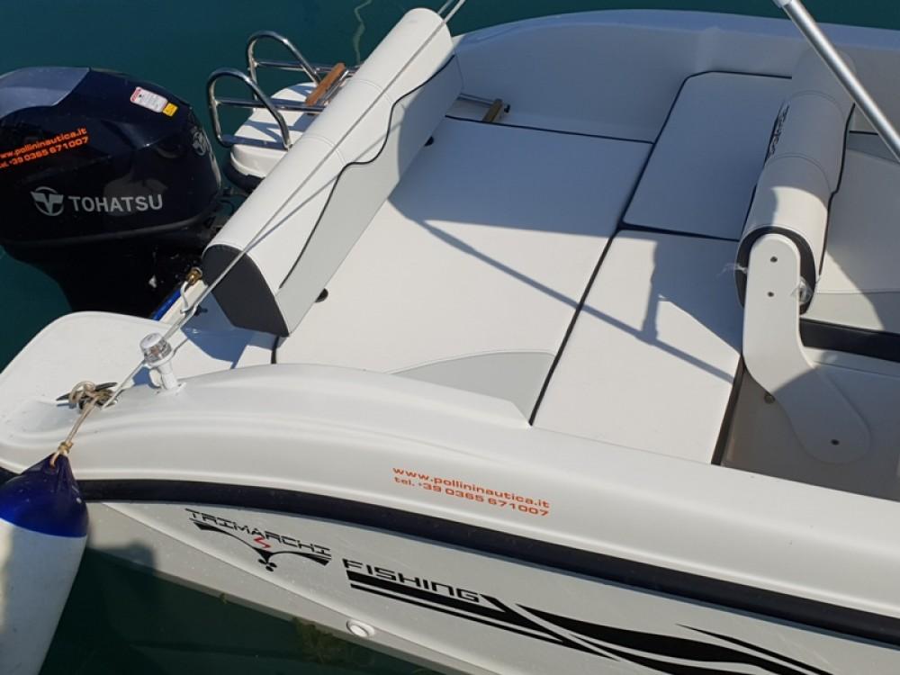 Vermietung Motorboot TRIMARCHI mit Führerschein