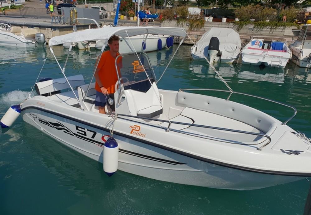 Motorboot mit oder ohne Skipper TRIMARCHI mieten in Moniga del Garda