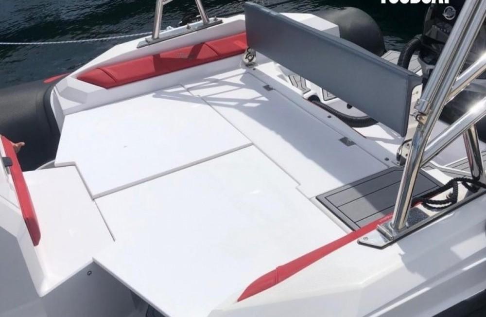 Vermietung Schlauchboot Ranieri mit Führerschein