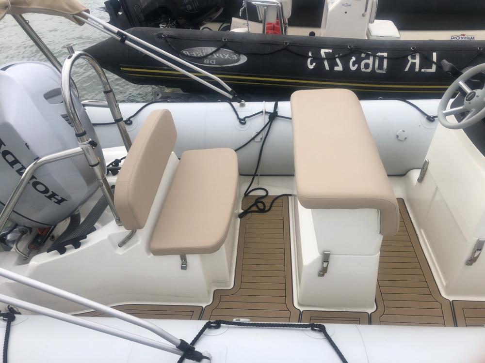 Schlauchboot mieten in La Rochelle - Bombard Sunrider 650