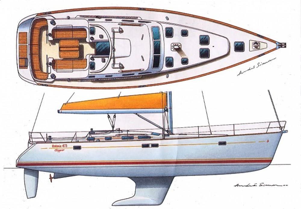 Bootsverleih Punta Ala günstig Oceanis 473 Clipper