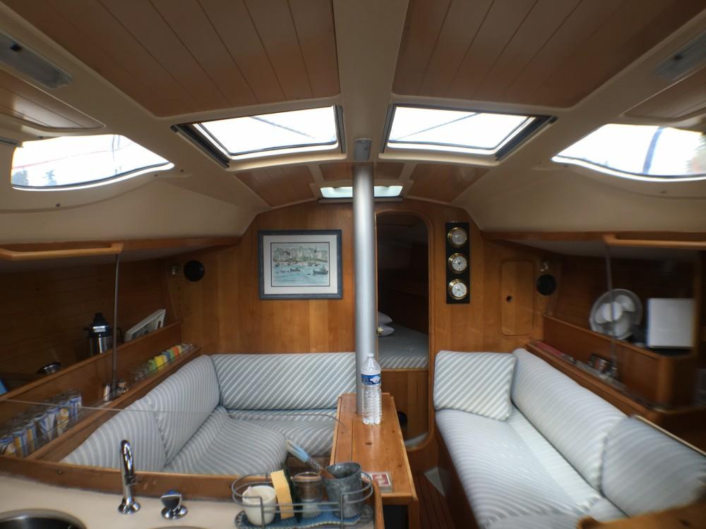 Bootsverleih Quiberon günstig OCEANIS 350