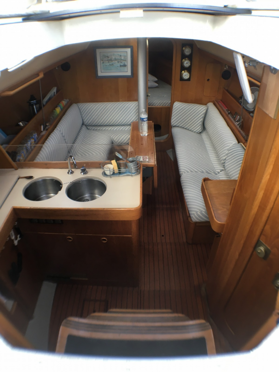 Yacht-Charter in Quiberon - Bénéteau OCEANIS 350 auf SamBoat