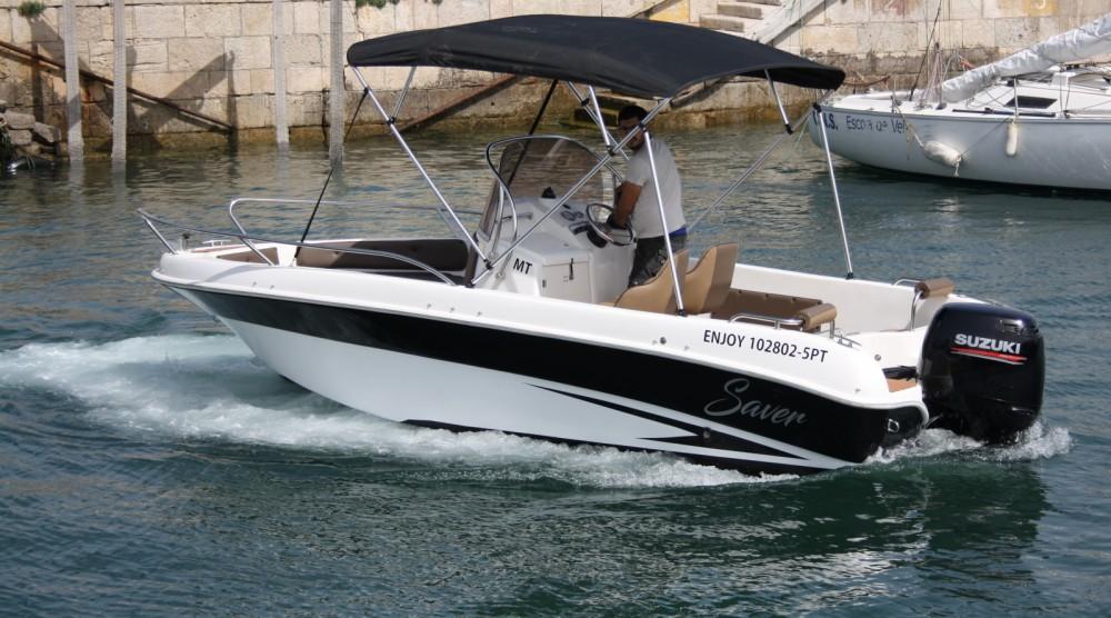 Motorboot mieten in Setúbal - Saver 580 open
