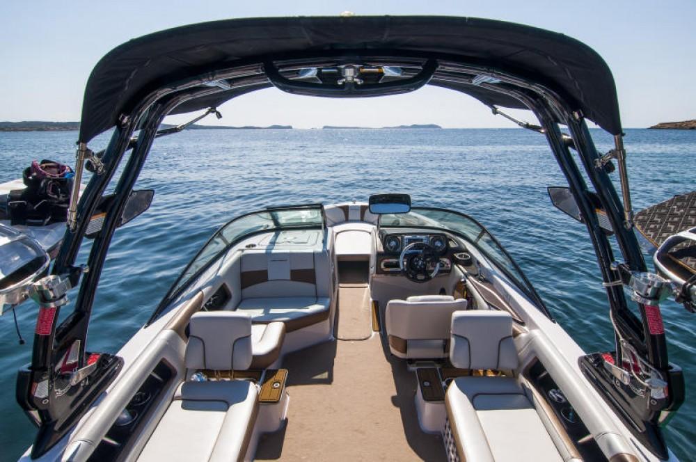 Motorboot mit oder ohne Skipper Nautique Correct Craft mieten in Ibiza-Stadt