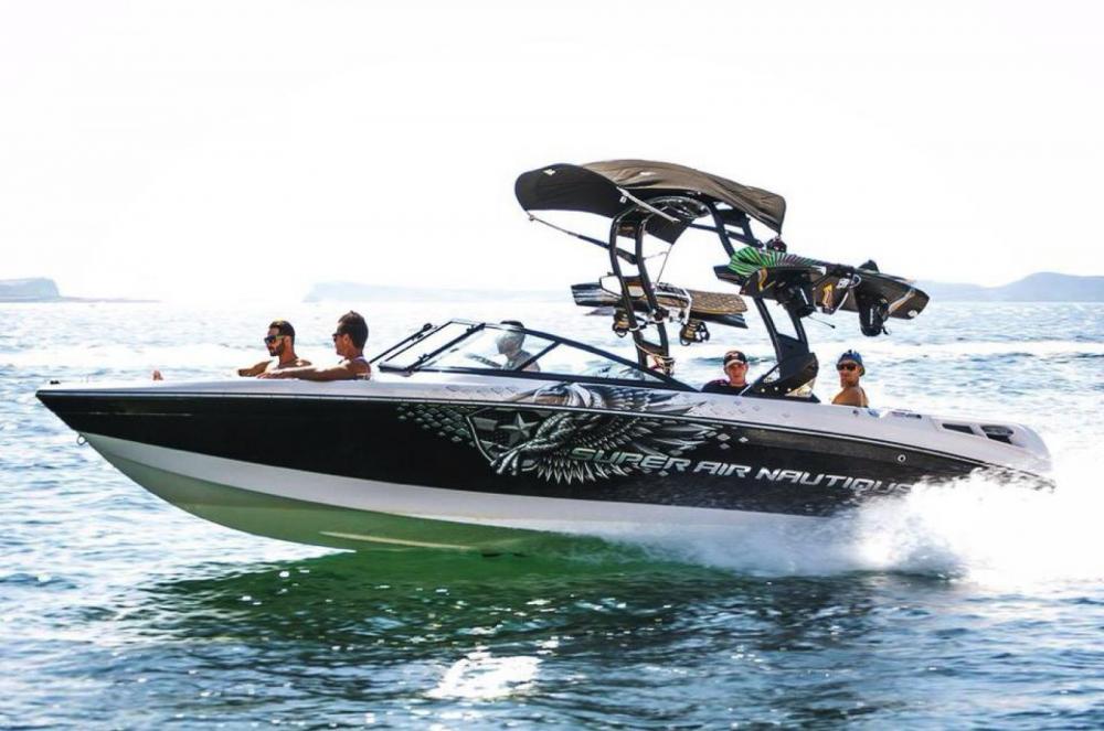 Motorboot mieten in Ibiza-Stadt - Nautique Correct Craft 230