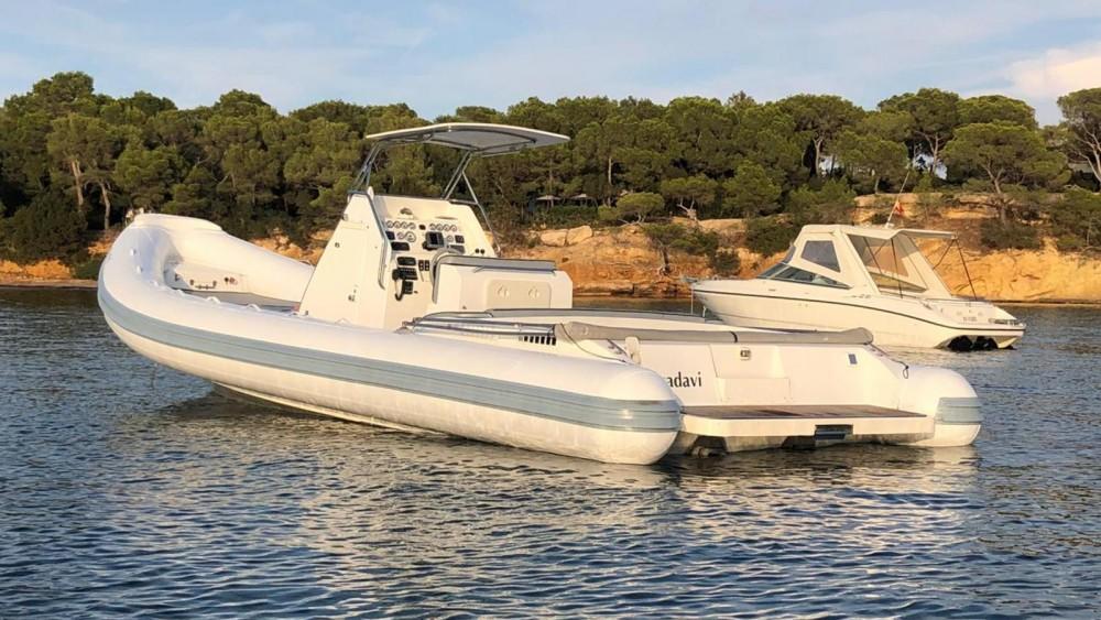 Schlauchboot mieten in Ibiza-Stadt - Master Gommoni 870 Open
