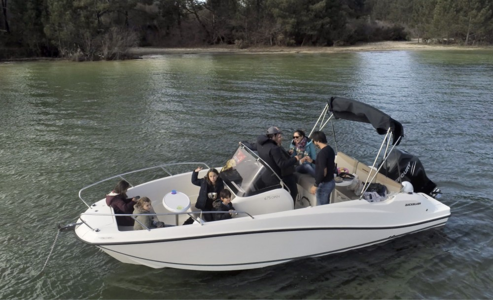 Motorboot mit oder ohne Skipper Quicksilver mieten in Arcachon