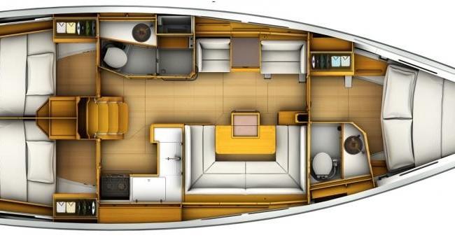 Segelboot mieten in Macinaggio - Jeanneau Sun Odyssey 40.9